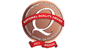 Gardenside Bronze - Commitment to Quality Award 2017