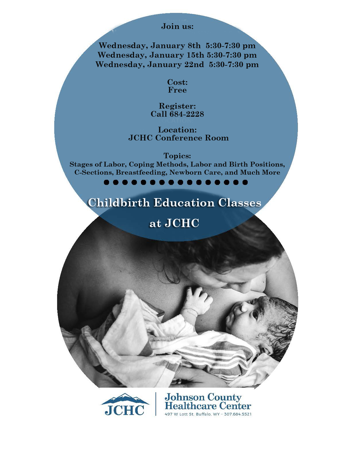 Childbirth Education Class jan 2020 1