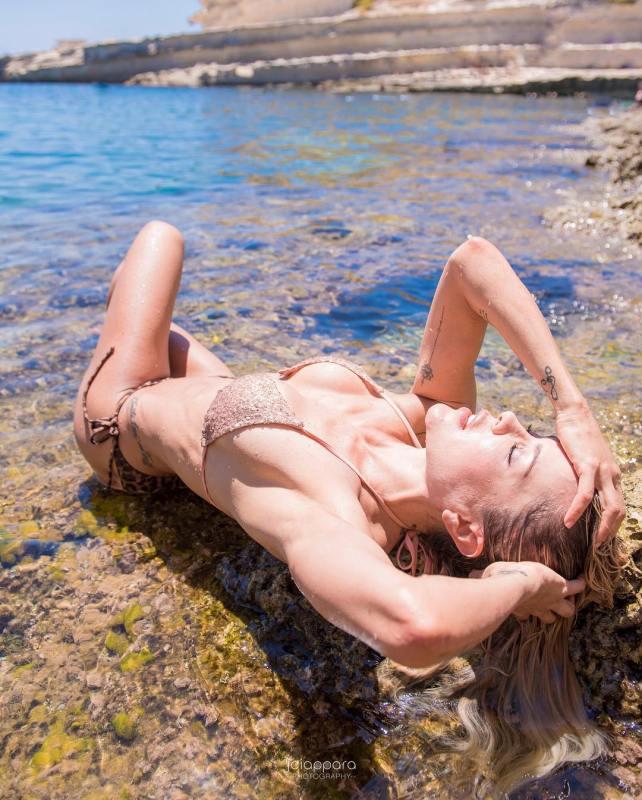 Summer shoot at St Peters Pool with nataliaparismodel  Beachhellip