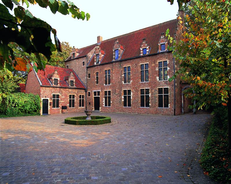 Maison d'Erasme - Cour intérieur