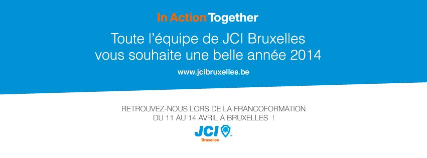 Voeux Nouvelle Année 2014 - JCI Bruxelles