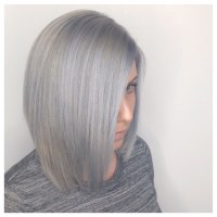 Silver Lining Hair Color Choice Image - hair coloring ombre