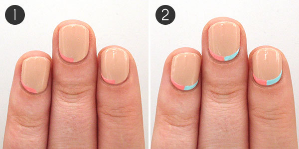 Prev Next Here Simple Nail Art Design Perfect For Short Long Nails Items