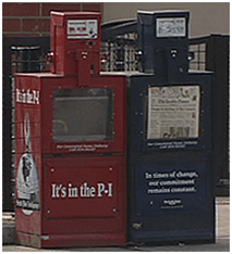 Seattle Times and PI boxes