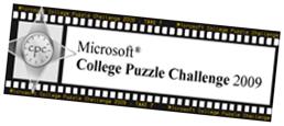 Microsoft College Puzzle Challenge 2009