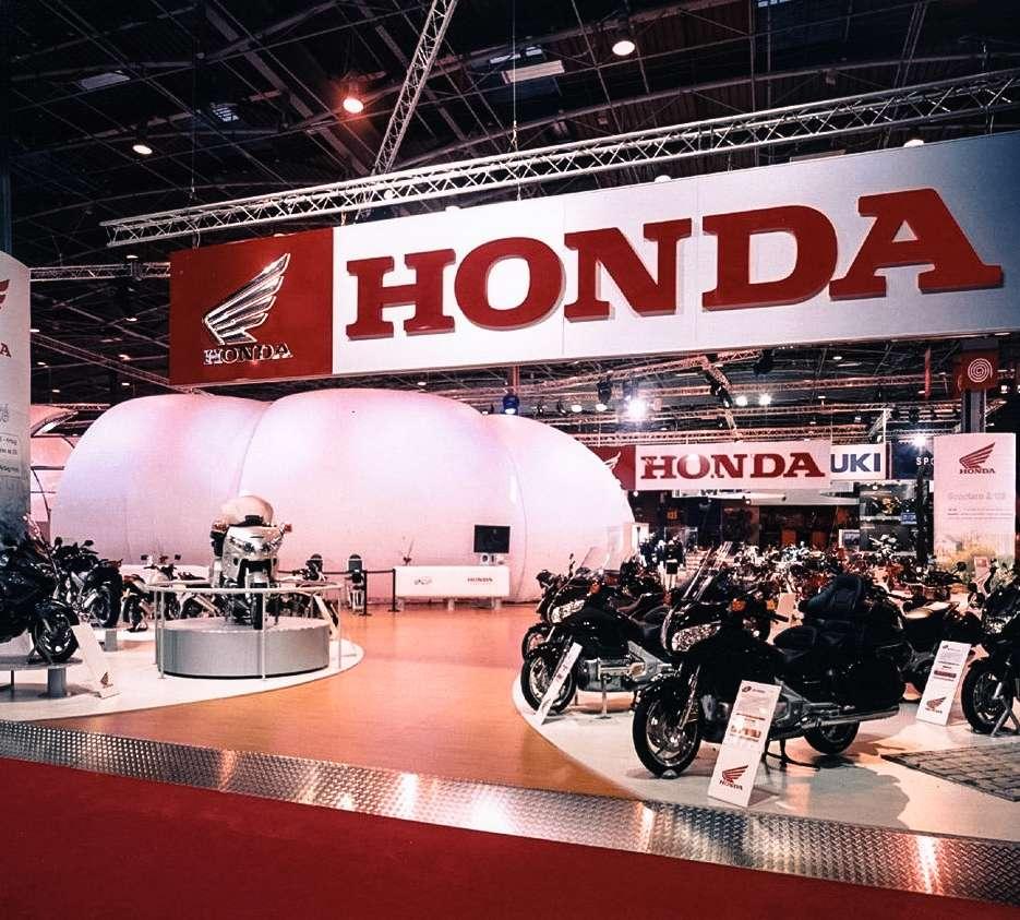 Stand honda Salon de le moto