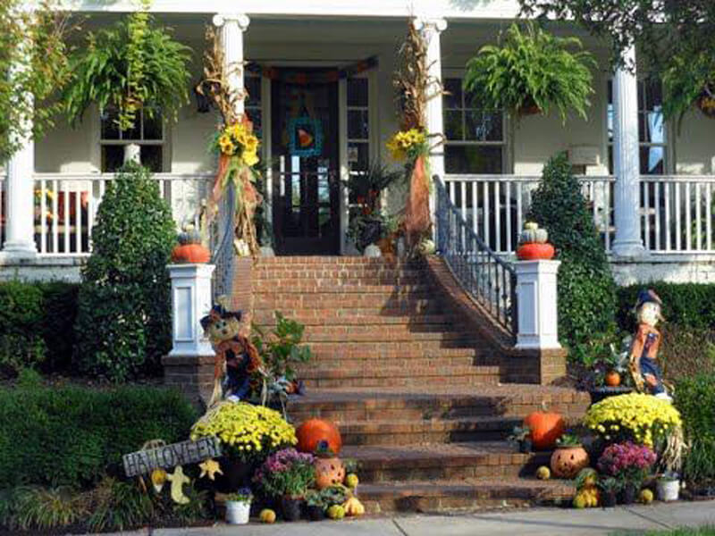 Fall Landscaping Ideas for Front Yards
