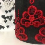 Close up Inka Embroidery