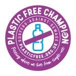 Plastic Free Champion logo