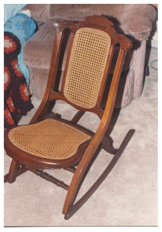Invention of First Folding Rocking Chair in U S