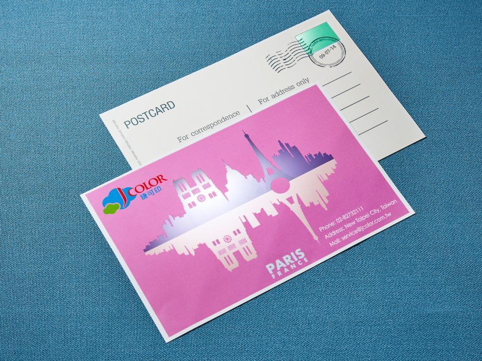 酷卡/明信片製作。便宜優質的酷卡印刷服務-捷可印