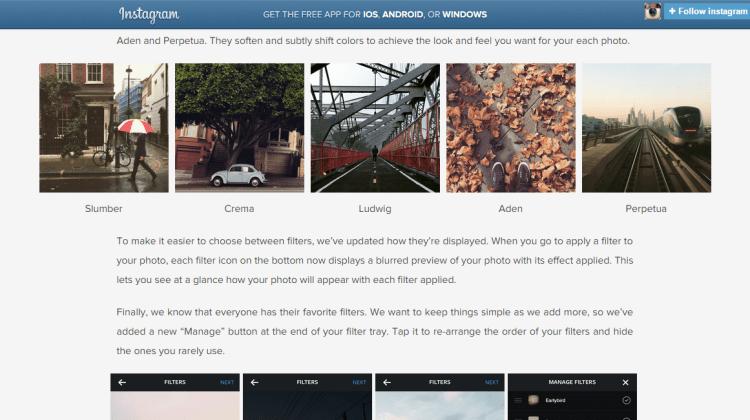 5 new filters in instagram