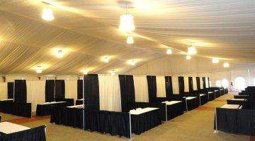 business fair booth