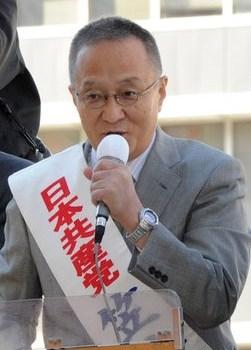 笠井亮比例東京候補・第一声国民の声届く政治に