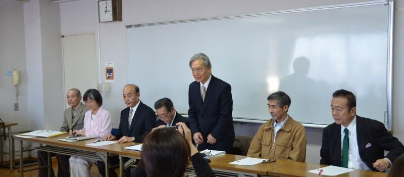 《西東京市長選》 杉山昭吉氏を擁立