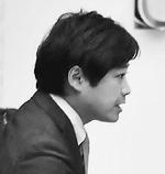 予算特別委員会の設置を求める動議を提案する原田あきら都議=8月30日、都議会本会議