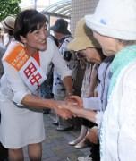 【狛江市長選】市政刷新の願い田中とも子さんに~市民と自公の対決鮮明