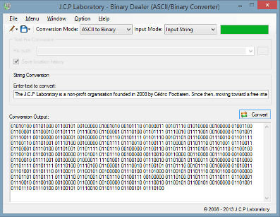 Binary to word converter online