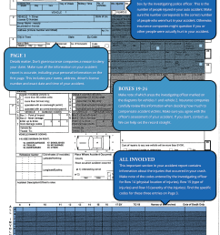 how to read your new york accident report page 1 [ 1100 x 1412 Pixel ]