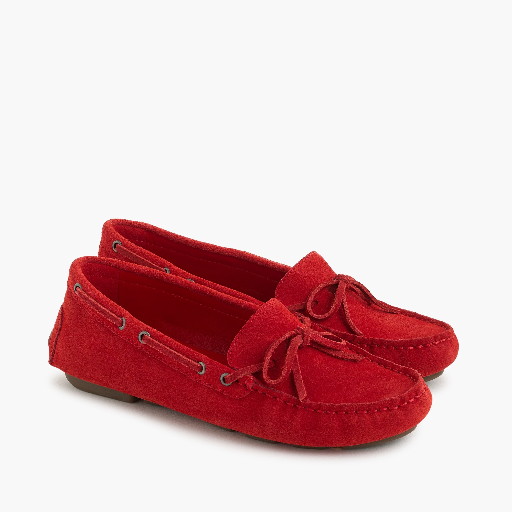 Ladies Suede Moccasins Womens Shoes