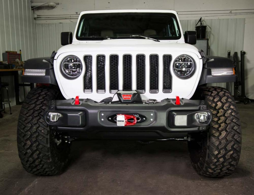 medium resolution of  jl wrangler steel bumper winch plate 2018 jeep wrangler and gladiator