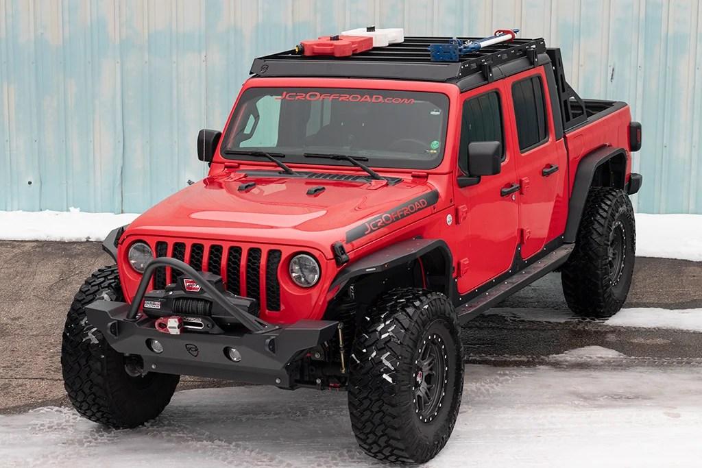 jt roof rack jeep gladiator 2020
