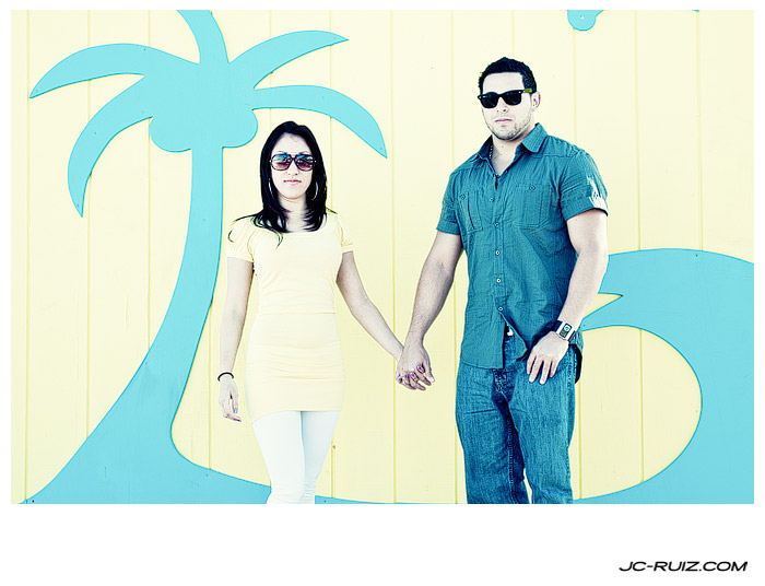 Hollywood Beach Couples Shoot