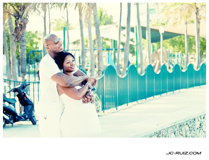 South Beach maternity shoot