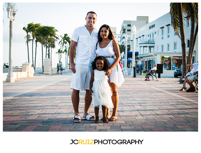 Hollywood Beach Family Session