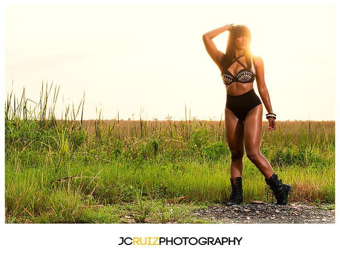 Album Cover Photo Shoot in the Everglades