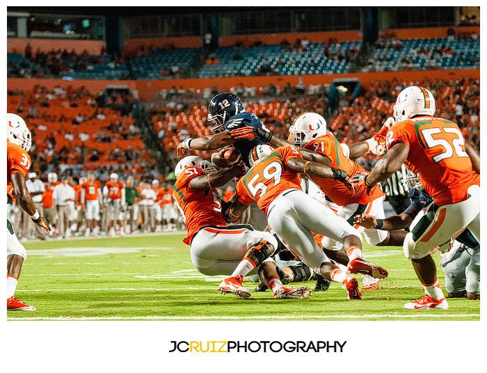 JC Ruiz Photography - Miami Hurricanes vs FAU