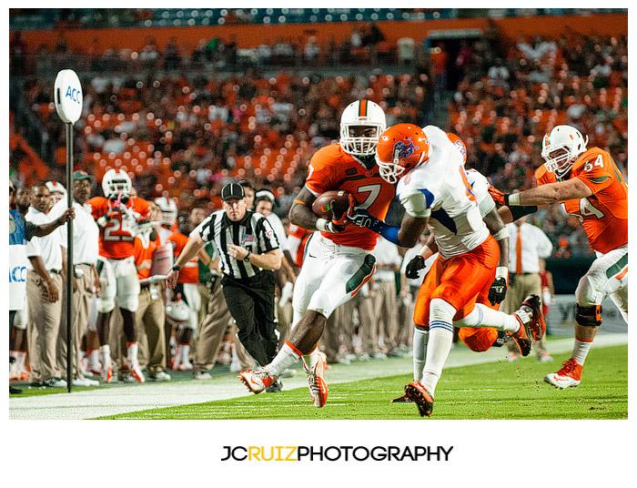 Miami Hurricanes vs Savannah State - Miami Sports Photographer - JC Ruiz Photography