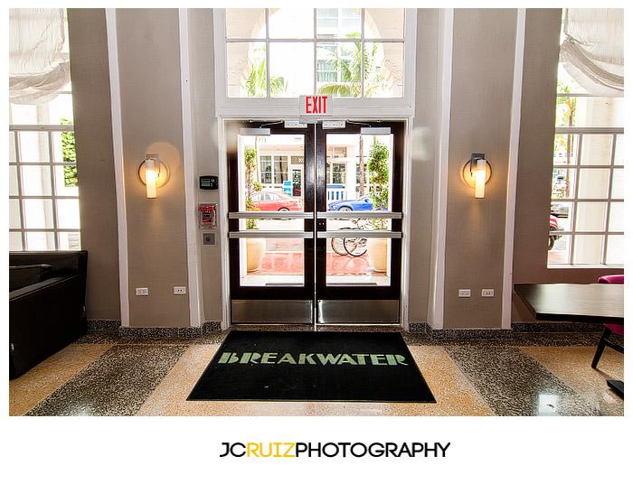 Breakwater Hotel entrance
