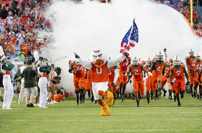 Miami Hurricanes vs. FAMU Rattlers