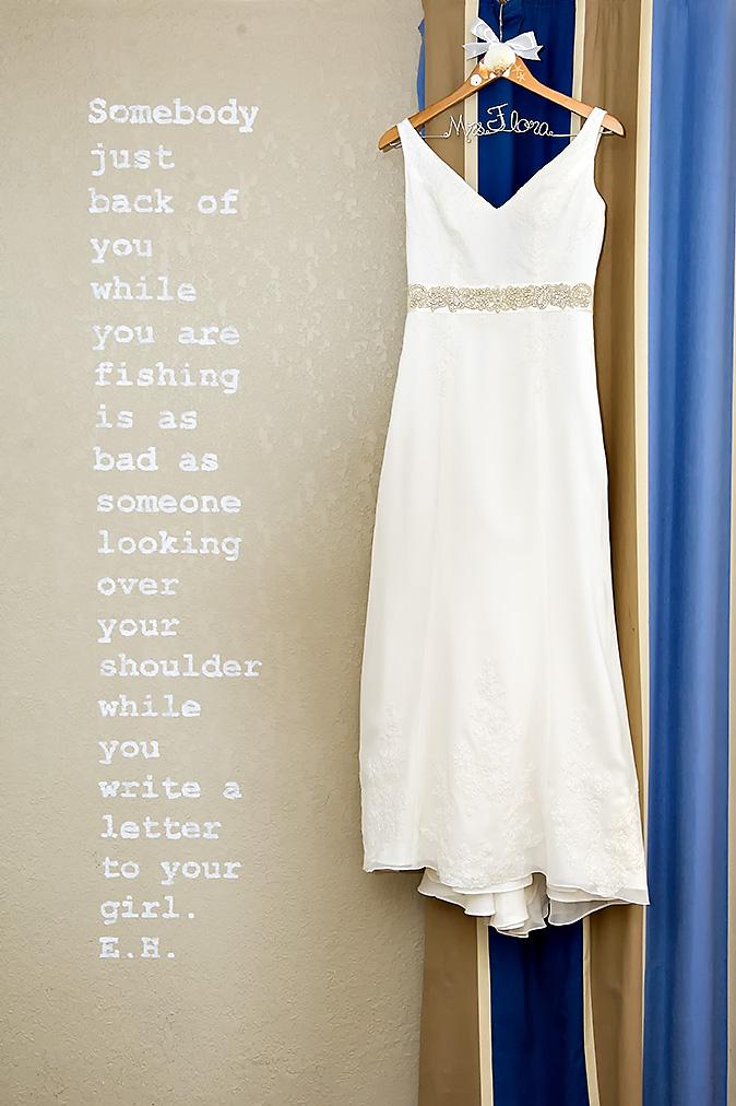 Florida keys wedding dress