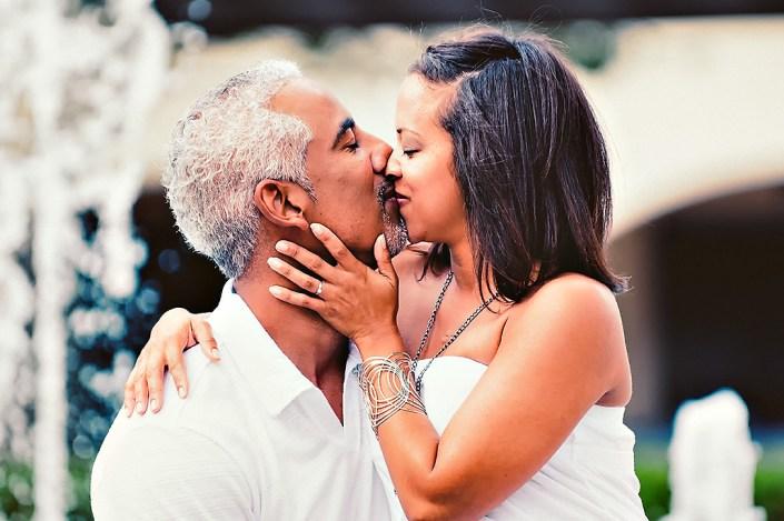 Midtown Miami engagement photo shoot