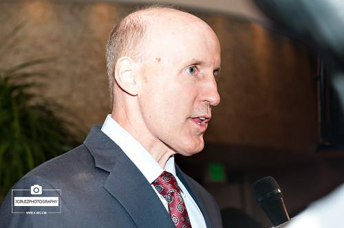 Dolphins coach Joe Philbin speaks with the media