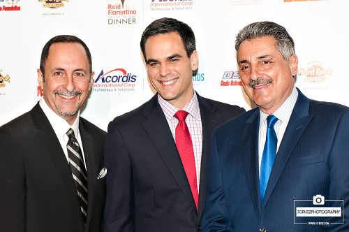 Eric Reid, Will Manso and Tony Fiorentino
