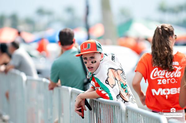 Miami Hurricanes Fan