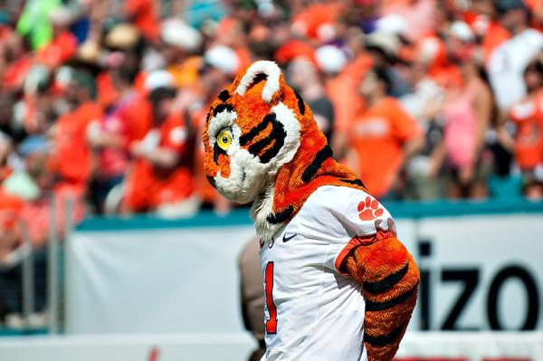 Clemson Tigers mascot