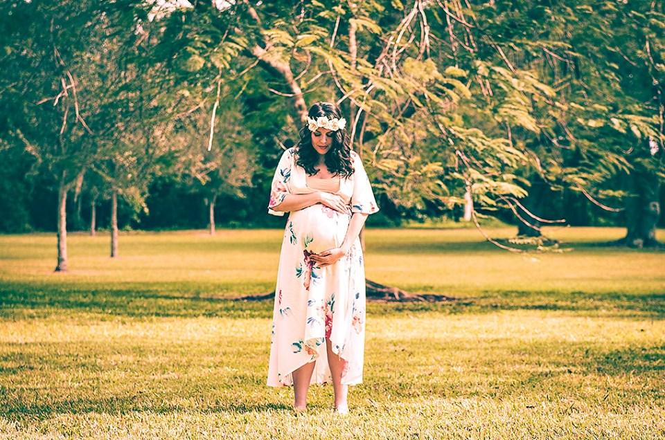 Bohemian Inspired Maternity Photo Shoot