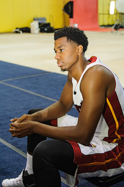 Hassan Whiteside sits down for an interview