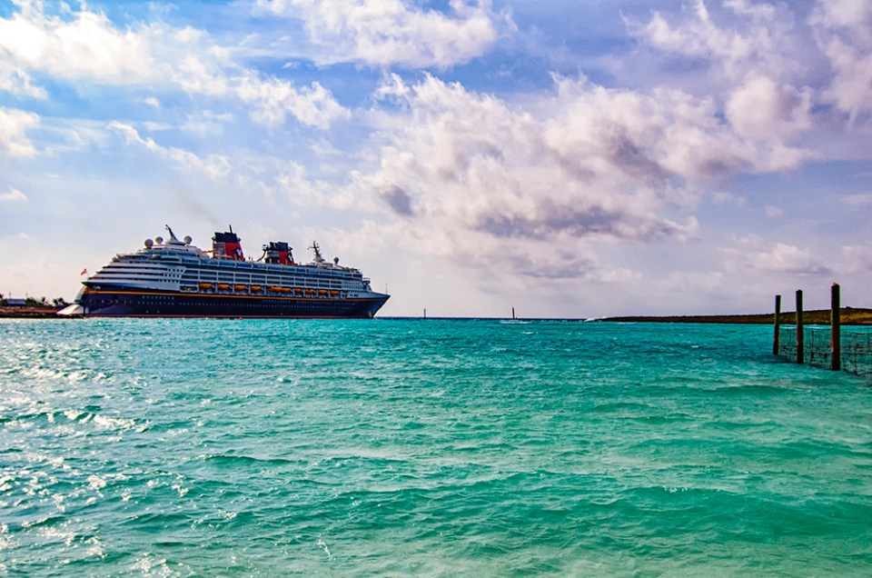 Cruising on the Disney Magic to Castaway Cay