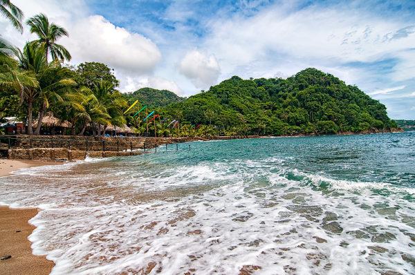 villa-caletas-private-beach