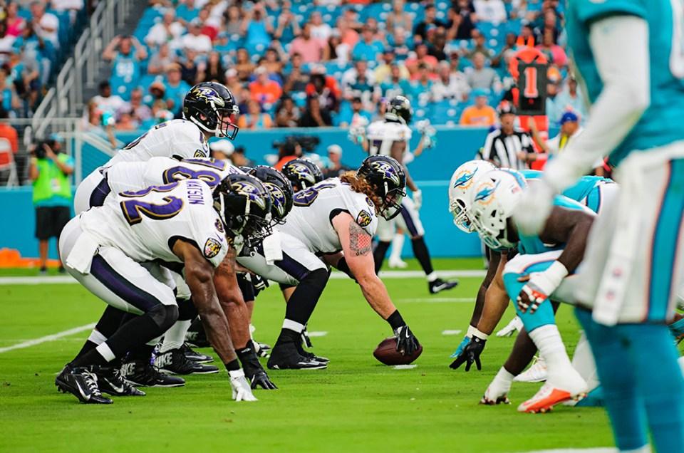 NFL Preseason – Miami Dolphins vs Baltimore Ravens