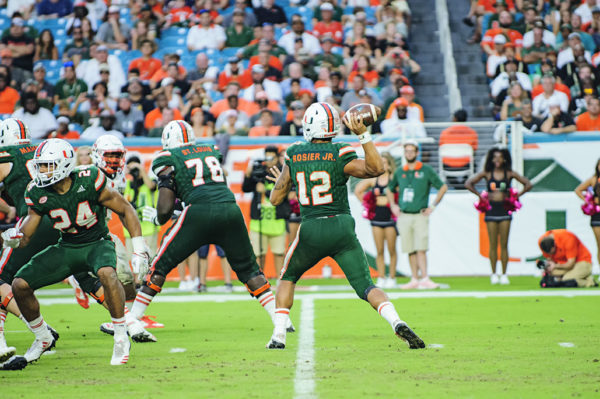 Malik Rosier looking to pass
