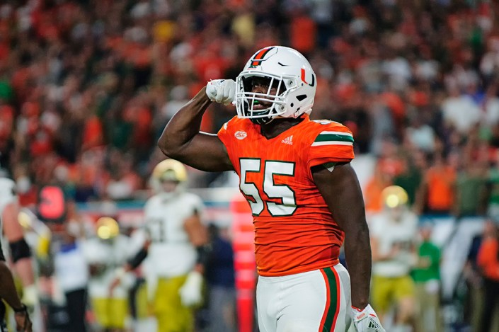 Shaq Quarterman just wants to keep on eating