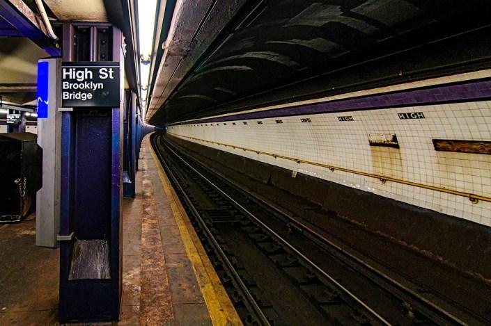 MTA Subway Brooklyn Bridge