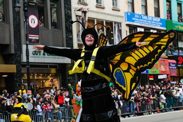 macys thanksgiving day parade performer