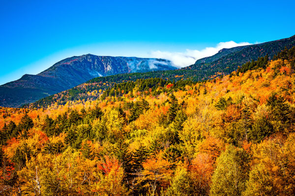 Presidential Range white mountains